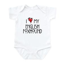 English Foxhound Infant Bodysuit