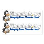 Tm logo 2-up Rectangle Sticker