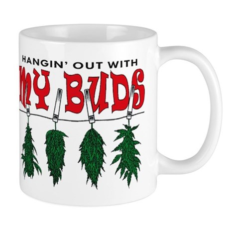 Hangin Out with My Buds Mug