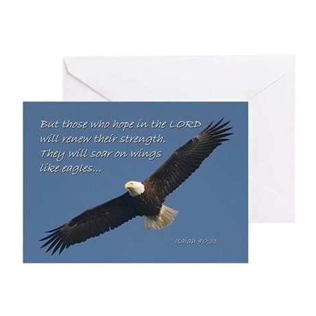 They will soar on wings like Eagles ~ Cards (10pk)