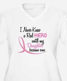 Never Knew A Hero 3 Daughter BC T-Shirt