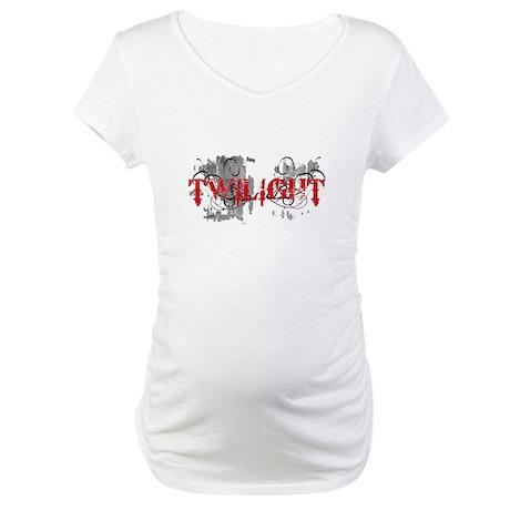 Twilight Distressed Graphic Maternity T-Shirt