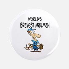 "Humorous Mailman 3.5"" Button"