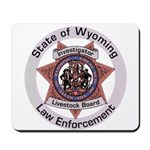 Wyoming Brand Inspector Mousepad