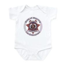 Wyoming Brand Inspector Infant Bodysuit