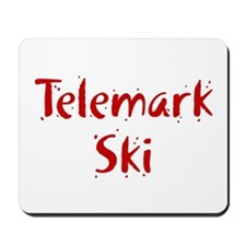 Telemark Ski Mousepad