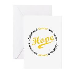 ChildhoodCancerHope Greeting Cards (Pk of 10)