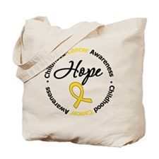 HopeChildhoodCancer Tote Bag