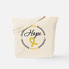 HopeChildhoodCancer Tote Bag