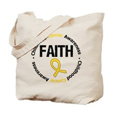 ChildhoodCancerFaith Tote Bag