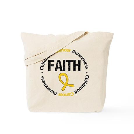 ChildhoodCancerFaith Tote Bag