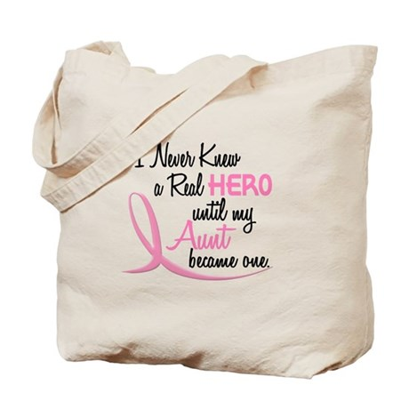 Never Knew A Hero 3 Aunt BC Tote Bag