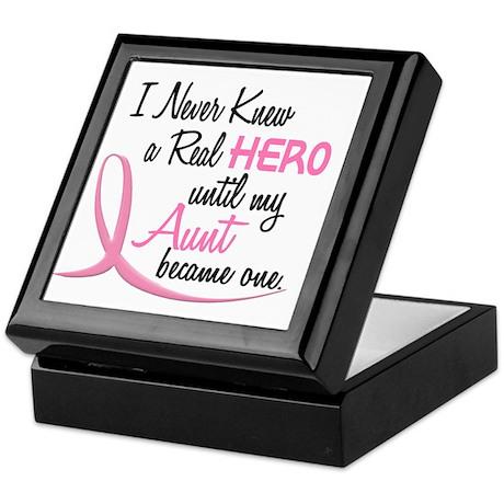Never Knew A Hero 3 Aunt BC Keepsake Box