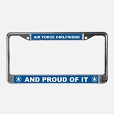Air Force Girlfriend License Plate Frame