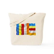 Buddhist Flag Tote Bag