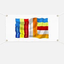 Buddhist Flag Banner