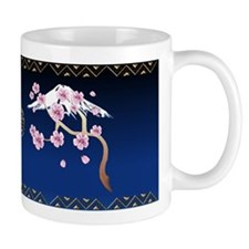 Cherry Blossoms and Mt Fuji Mug