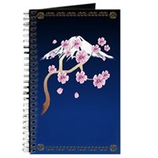 Cherry Blossoms and Mt Fuji Journal