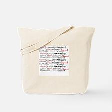 Cute Peace love twilight Tote Bag