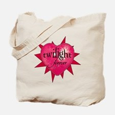 twilight forever heart /salmo Tote Bag