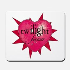twilight forever heart /salmo Mousepad