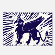 Blue Gryphon Postcards (Package of 8)