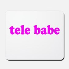 Tele Babe Mousepad