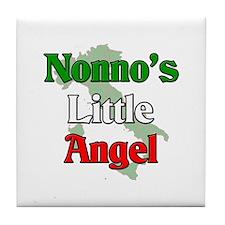 Nonno's Little Angel Tile Coaster