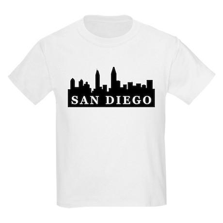 San Diego Skyline Kids Light T-Shirt