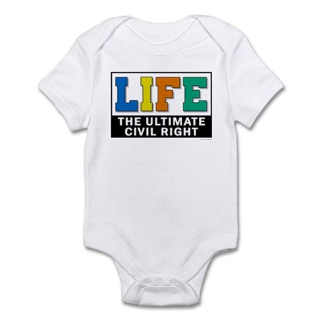 Civil Rights 2 Infant Bodysuit
