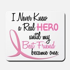 Never Knew A Hero 3 Best Friend BC Mousepad