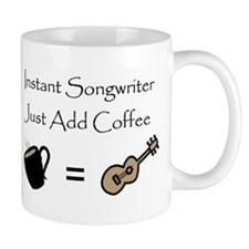 Instant Songwriter Small Mugs