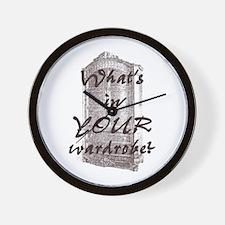 Wardrobe Wall Clock