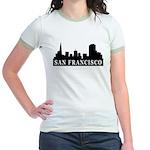 San Francisco Skyline Jr. Ringer T-Shirt