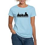 San Francisco Skyline Women's Light T-Shirt