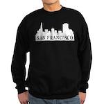San Francisco Skyline Sweatshirt (dark)
