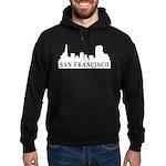 San Francisco Skyline Hoodie (dark)