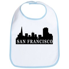 San Francisco Skyline Bib