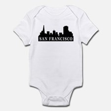 San Francisco Skyline Infant Bodysuit