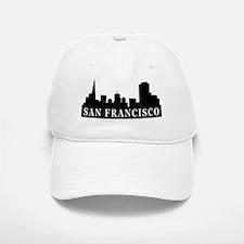 San Francisco Skyline Baseball Baseball Cap