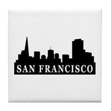 San Francisco Skyline Tile Coaster