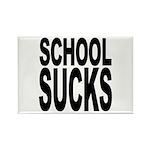 School Sucks Rectangle Magnet (100 pack)