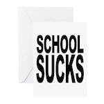 School Sucks Greeting Cards (Pk of 10)