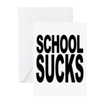 School Sucks Greeting Cards (Pk of 20)