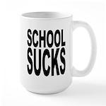 School Sucks Large Mug