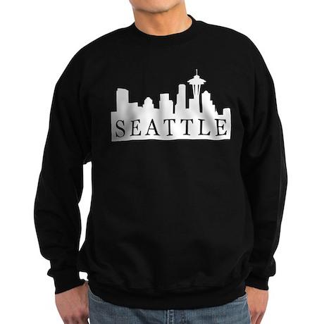 Seattle Skyline Sweatshirt (dark)