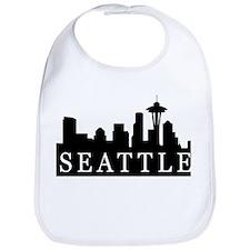 Seattle Skyline Bib