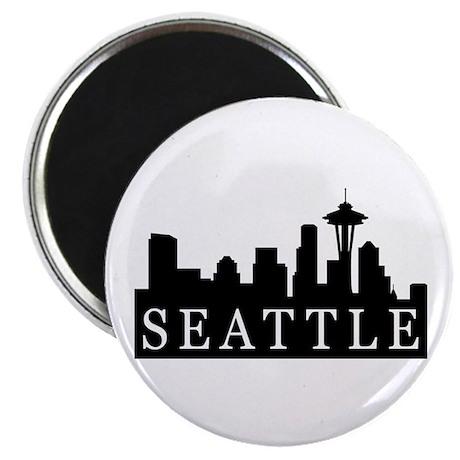 "Seattle Skyline 2.25"" Magnet (10 pack)"