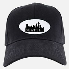 Seattle Skyline Baseball Hat