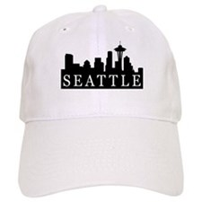 Seattle Skyline Baseball Cap